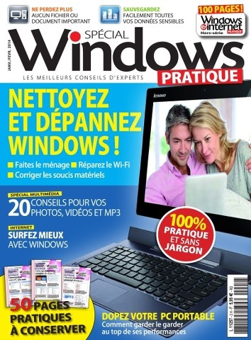 Windows & Internet Pratique HS 2 - Nettoyez et dèpannez windows !