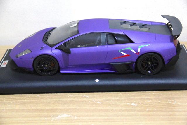 Mr Lamborghini Murcielago Lp670 Sv Matt Purple Lamborghini