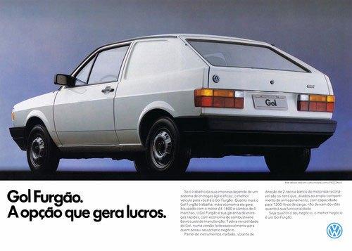 Volkswagen Gol Furgão. A opção que gera lucros.