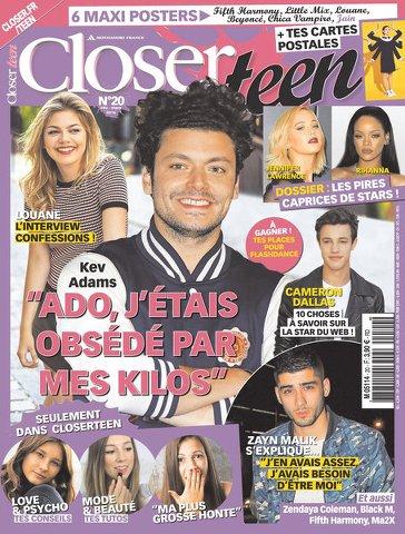 Closer Teen 20 - Mars 2016