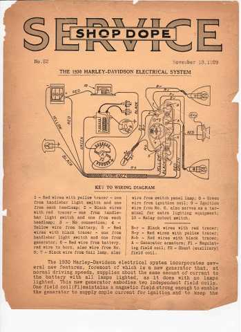 [SCHEMATICS_4PO]  Wanted wiring diagram for 1930 D - model [Archive] - Classic Motorcycle,  Classic American Iron | Wiring Diagram Harley Davidson Vl |  | Classic American Iron