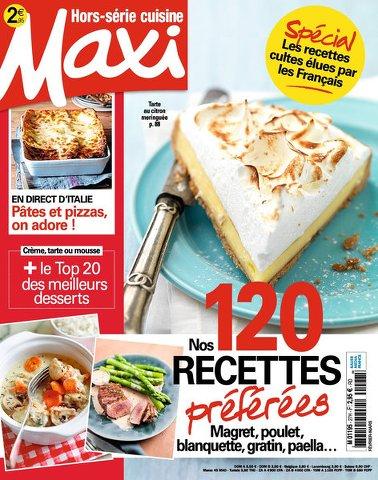 Maxi Hors Série Cuisine 28 - Fevrier/Mars 2016