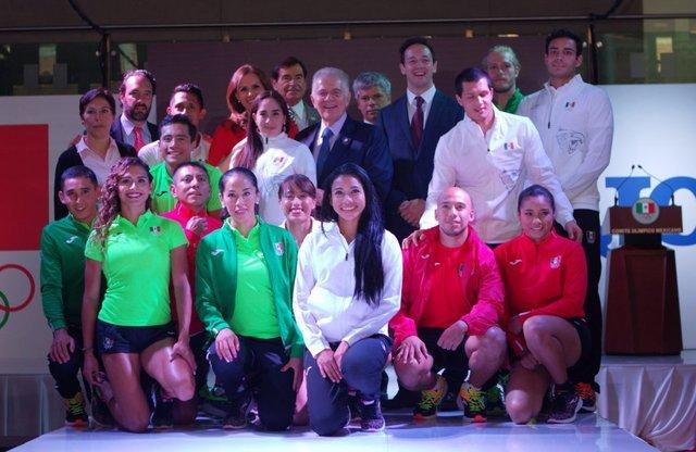 Lista de atletas mexicanos que irán a Río 2016