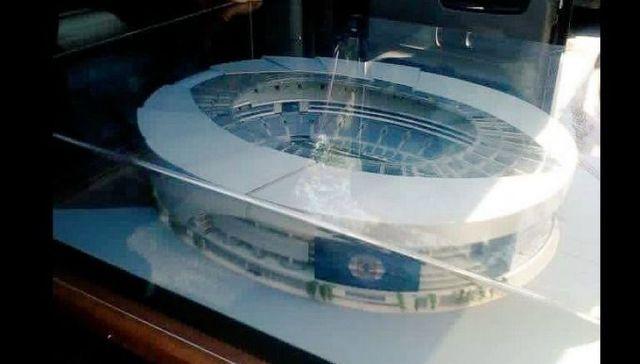 Supuestas maqueta de posible nuevo estadio de Cruz Azul