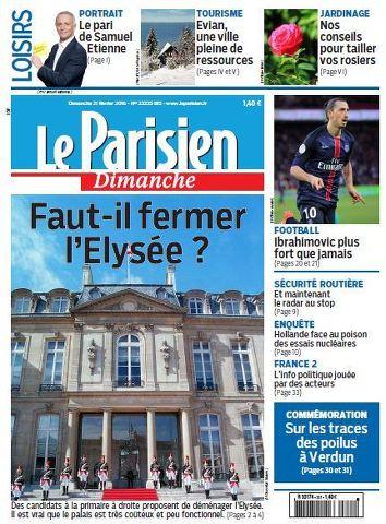 Le Parisien + Guide de votre dimanche du 21 février 2016