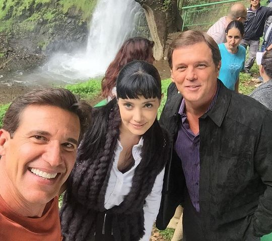 Foto de Lisette Morelos, Jorge Aravena y René Strickler