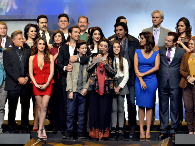 Presentación de la telenovela Corazón que miente