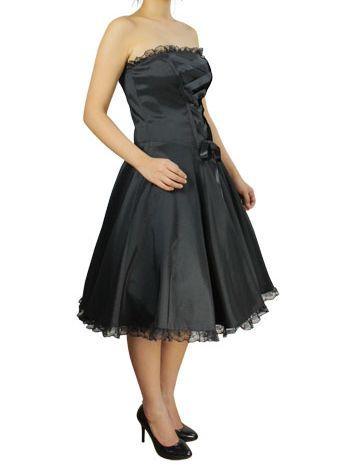 corsage kleid mit schn rung schwarz oder lila gothic rockabilly 50ies ebay. Black Bedroom Furniture Sets. Home Design Ideas