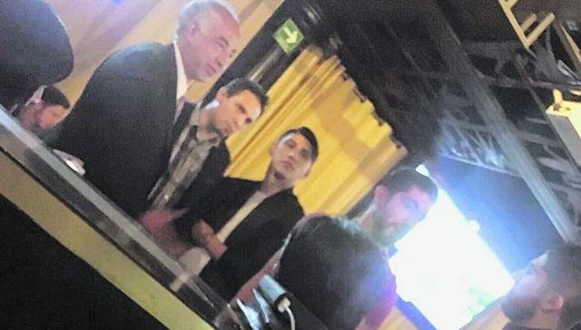 Alan Pulido, Rodolfo Pizarro y Jair Pereira se divierten en su dia libre