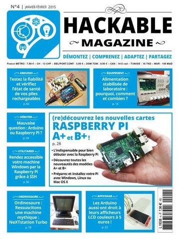 Hackable Magazine 4 - Janvier-Février 2015