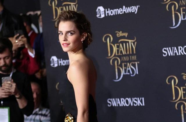 Emma Watson deslumbra en la premiere mundial de 'La bella y la bestia'