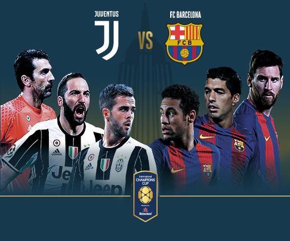 International Champions Cup Milan Vs Barcelona: Juventus Vs Barcelona En Vivo