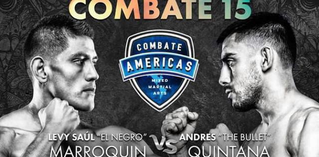 Combate 15 (Combate Americas) – MMA en Vivo – Viernes 30 de Junio del 2017