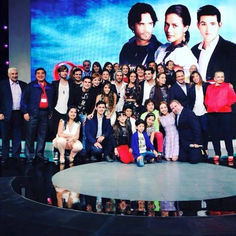 Presentación oficial de la telenovela Simplemente María