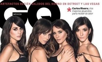 Revista GQ con Zuria Vega, Camila Sodi, Adriana Louvier y Eréndira Ibarra