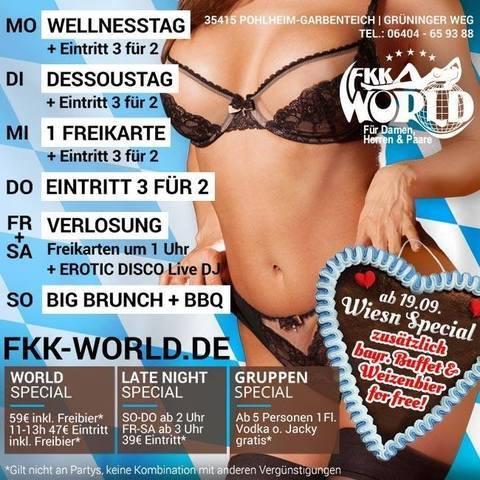 Fkk world garbenteich