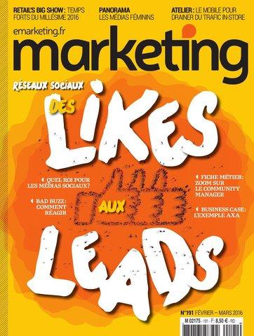 Marketing 191 - Fevrie/Mars 2016