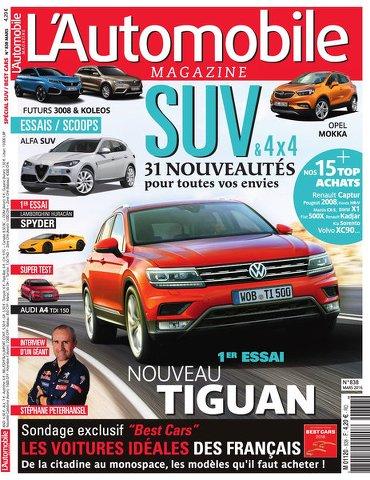 L'Automobile magazine 838 - Mars 2016