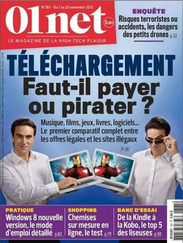 01 Net 785 - Téléchargement : faut-il payer ou pirater ?