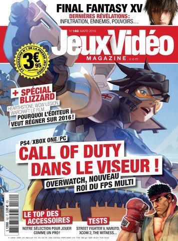 Jeux Vidéo magazine 182 - Mars 2016