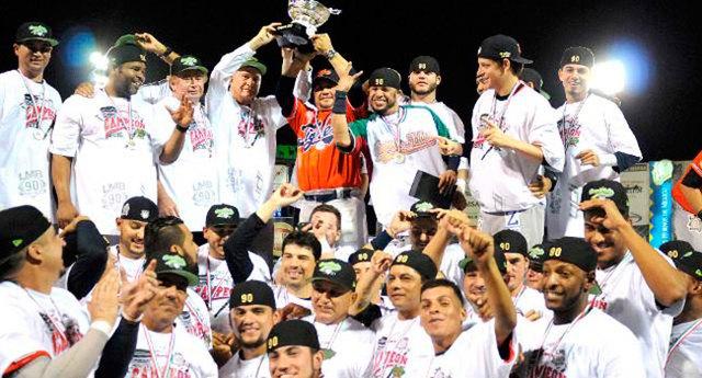 Tigres campeón de la Liga Mexicana de Beisbol