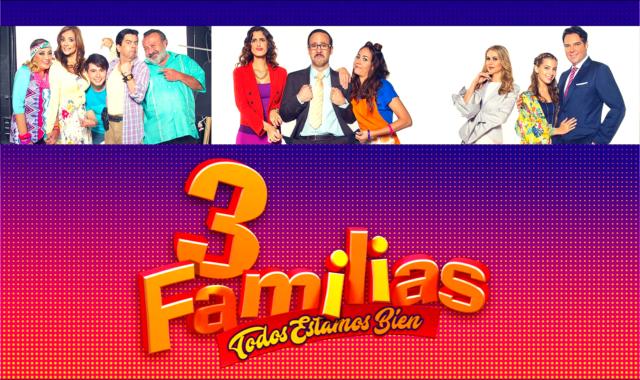 3 Familias en Vivo – Ver telenovela Online, por Internet y Gratis!