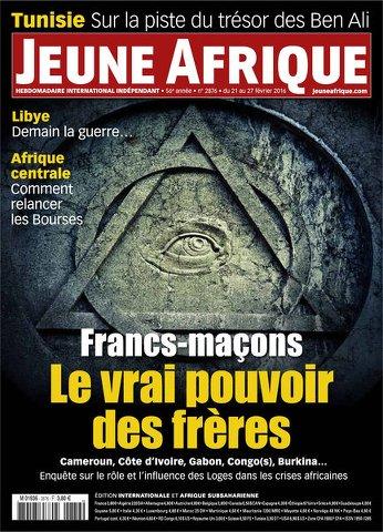 Jeune Afrique 2876 - 21 au 27 Février 2016