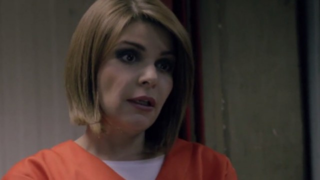 "Itatí Cantoral como Soraya Montenegro en ""Orange is the New Black"""