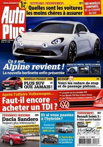 Auto Plus 1433 - 19 au 25 Février 2016