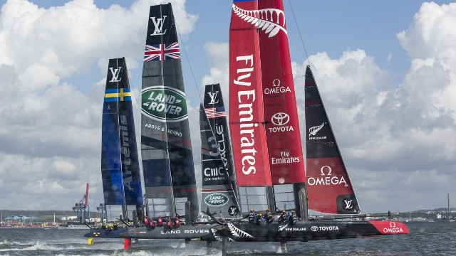 Louis Vuitton America's Cup Qualifiers Challenger Play Off Semifinales Carreras 7, 8 y 9 en Vivo – Jueves 8 de Junio del 2017