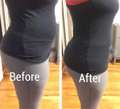 yianna waist trainer before and after pictures