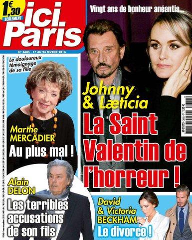 Ici Paris 3685 - 17 au 23 Février 2016