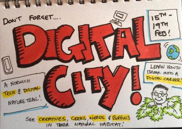 Digital City IN Norwich