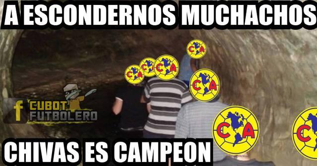 Memes del campeonato de la Liga MX  de Chivas