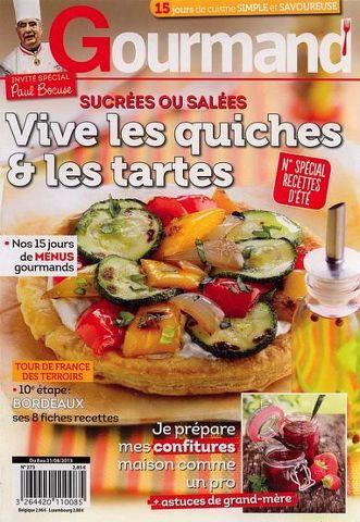 Vie Pratique Gourmand 273 - Vive les Quiches et les Tarte