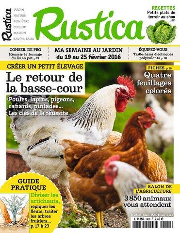Rustica 2408 - 19 au 25 Février 2016
