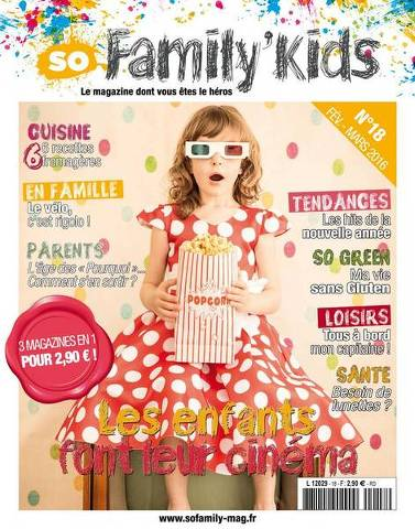 So Family' Kids - Février/Mars 2016
