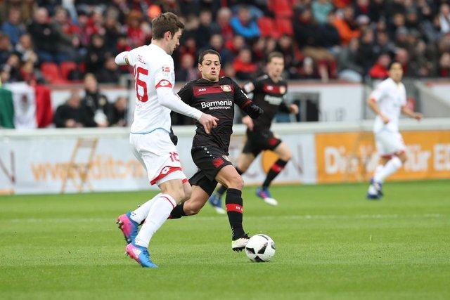 Chicharito cortó racha goleadora en la Bundesliga