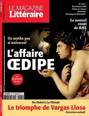 Le Magazine Littéraire 565 - Mars 2016