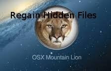 Regain Hidden Files from Mountain Lion