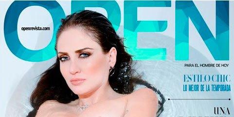 Celia Lora en la Revista Open