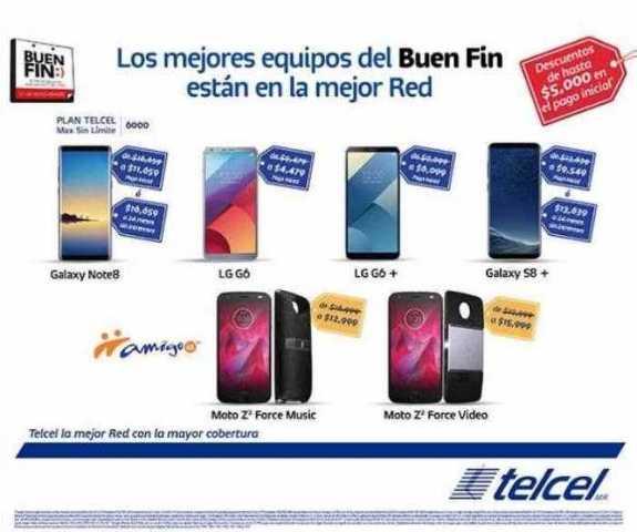 Ofertas Telcel Buen Fin 2017 (Folleto)