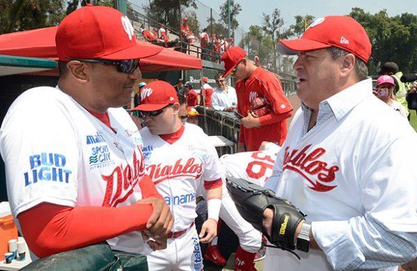 Piojo Herrera en el Béisbol con los Diablos Rojos