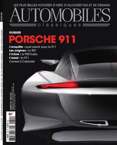 Automobiles Classiques 259 - Mars 2016
