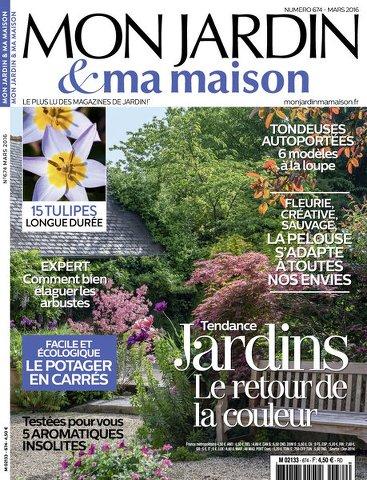 Mon Jardin & Ma Maison 674 - Mars 2016