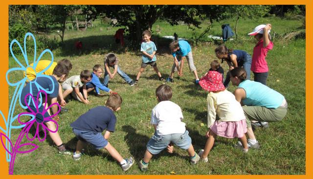 activites enfants camping la Forêt