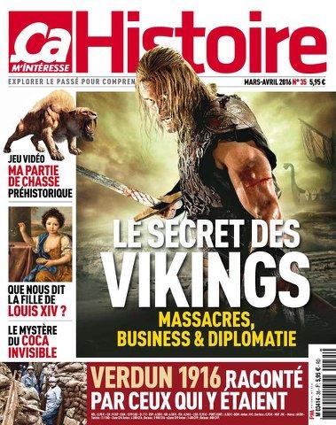 Ça M'intéresse Histoire 35 - Mars /Avril 2016