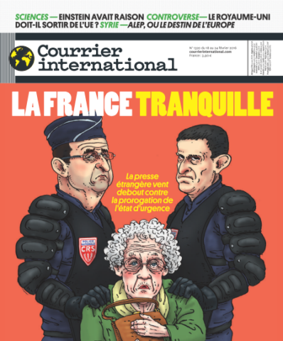 Courrier International - 18 au 24 Février 2016