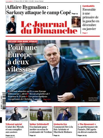Le Journal du Dimanche - 21 Février 2016