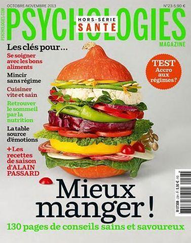Psychologies Magazine Hors-Série 23 - Mieux manger !